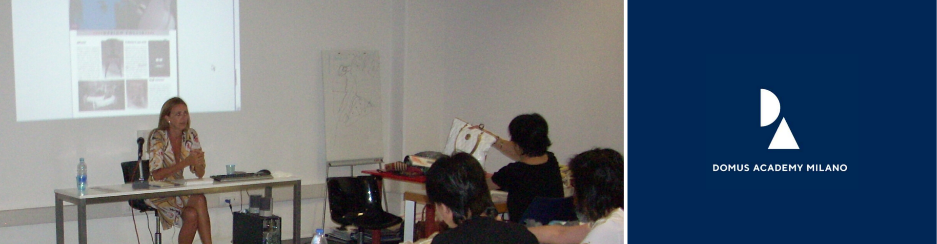 <span>Domus Academy Milano </span>–  Katya Fernandez  hold a <span>Fashion Accessories'  Seminar</span> for Hong Konghese students. Oct/2009