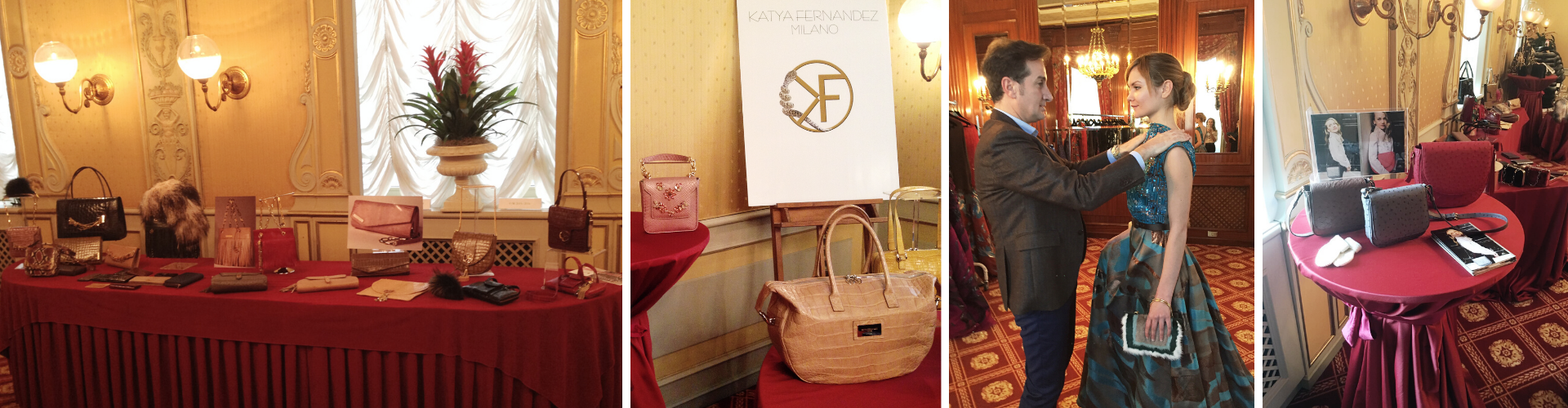 <span>Hotel Principe Di Savoia - Launch of the Mongolia Line bags</span> for the Winter accessories Collection during the MFW. March/2016.