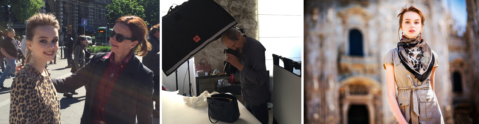 <span>Steve Thornton, shooting of Pet Series Foulards Catalogue</span>  at the Castello Sforzesco, Sempione Parc in  Milan and SLS, Concept Store Boutique.  April/2016