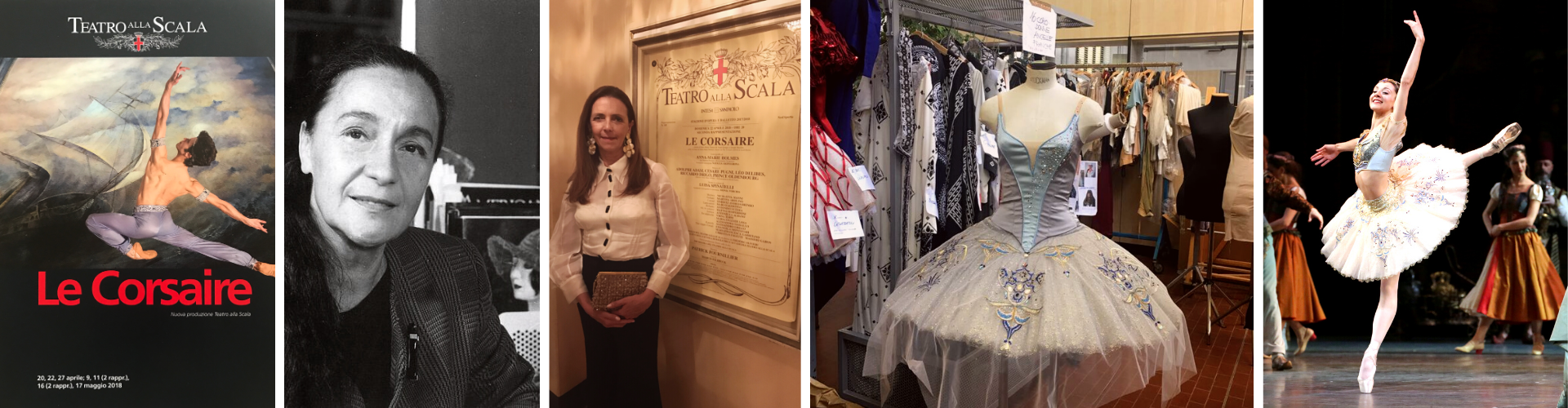 THE FIRST OF THE BALLET LE CORSAIRE AT THE LA SCALA THEATER IN MILAN. KATYA DESIGNED THE DECORATIONS AND EMBROIDERIES FOR THE BALLET COSTUMES IN COLLABORATION WITH THE SET DESIGNER AND COSTUME DESIGNER LUISA SPINATELLI. APRIL / 2018