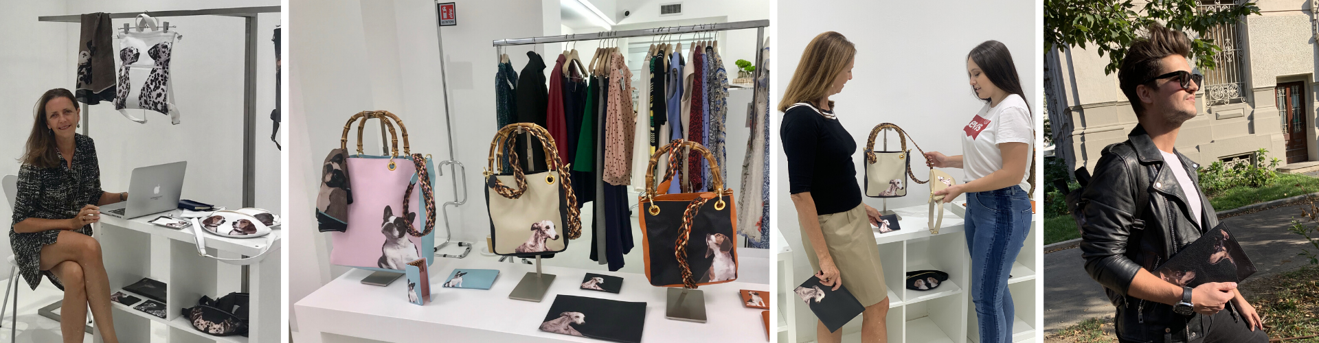 <span>Showroom - Settala 19</span> – MFW - Launch in Italy of the <span>Pet Series Black&White  Collection.</span> Sept/ 2019